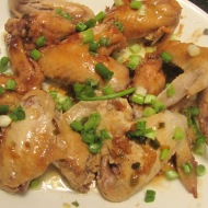 Soy Sauce Stewed Chicken Wings