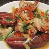 Pan Fried Lobster