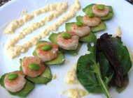 Fresh Choice Shrimp with Mango Yogurt Sauce