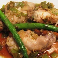 Rabbit Braised in Homemade Garlic Ginger Chili Sauce