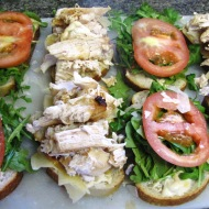 Arugula Chicken Sandwich
