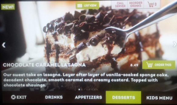 Explore menus.