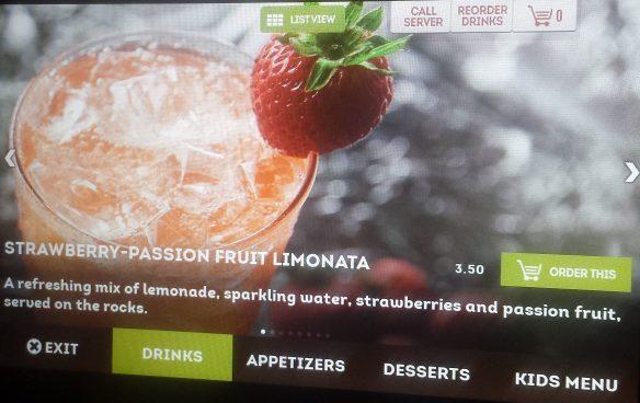 Explore menus