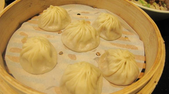 """Pork XiaoLongBao"" – love the juicy meat filling and the exquisite folds."