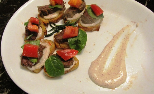 Enjoy this quick and easy hors d'oeuvre!
