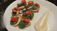 Beef Fillet Hors d'oeuvre with German Mustard