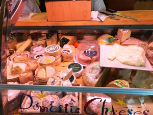 The cheese and bakery shop