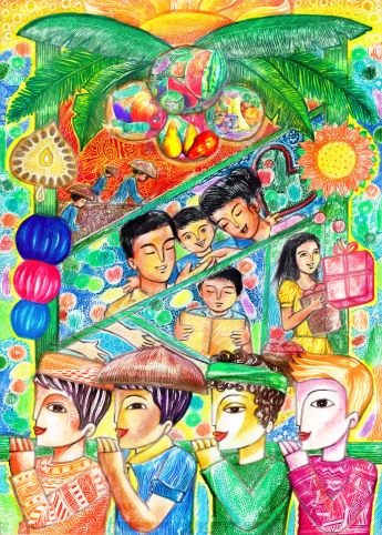 """Food Nurtures"" by Trubador Wisely, 7th Grade, Timoteo Paez School, Manila, Philippines"