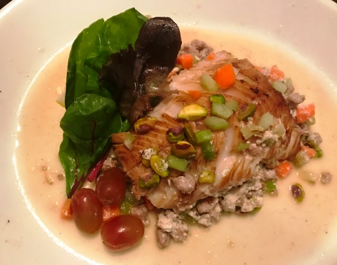 Seared Sablefish in Yogurt Sauce