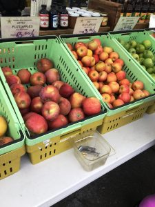 Varieties of apple