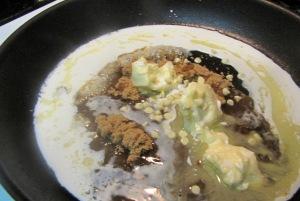 Stir until fully mixed.