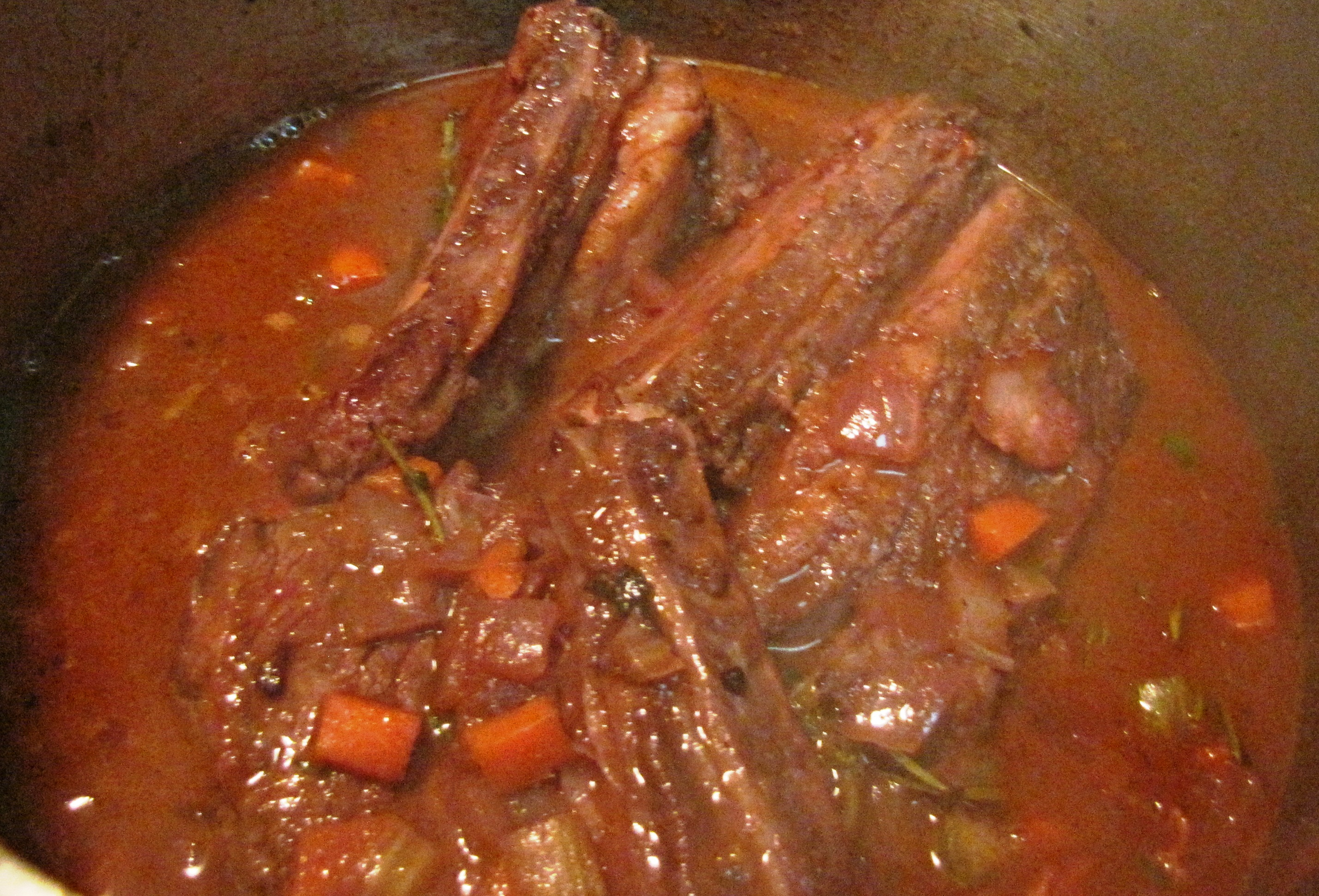Braised Beef Short Ribs in Red Wine Tomato Sauce | Meals ...
