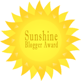 SunshineBloggerAward